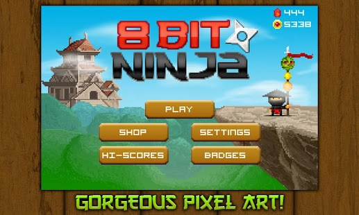 8bit Ninja- screenshot thumbnail
