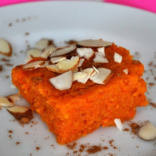 Indian-style Spiced Carrot Bars (Gajar Ka Halwa)