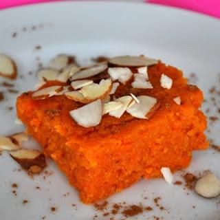 Indian-style Spiced Carrot Bars (Gajar Ka Halwa).