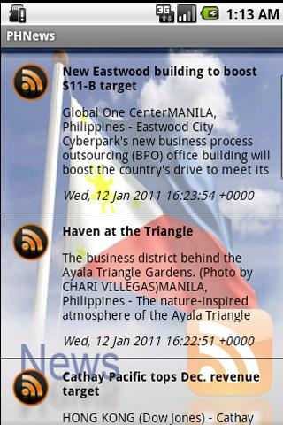 Philippine News HD for Android- screenshot