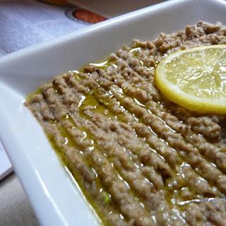 Eggplant Dip (Baba Ghanoush)