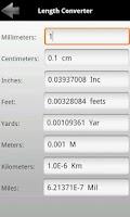 Screenshot of Multi Unit Converter
