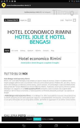 Hotel economico Rimini