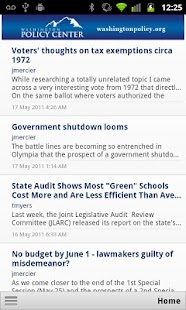 WA Policy Center - screenshot thumbnail