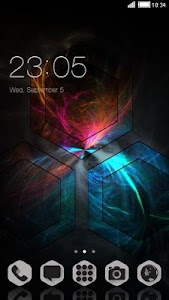 HEXA THEME FREE ANDROID THEME screenshot 0