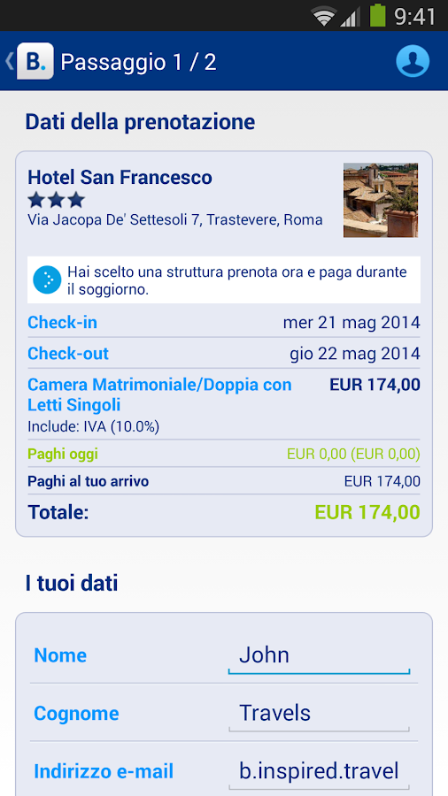 Booking.com: +430.000 hotel - screenshot