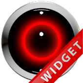 Poweramp Widget Red Robot