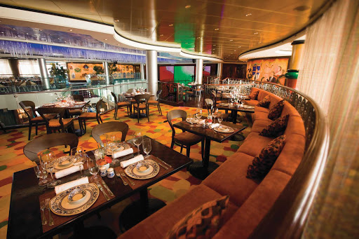 Norwegian-Pearl-dining-Mambos - Head to Mambo's Latin/Tapas Restaurant aboard Norwegian Pearl for a bite of Mexican and Tex-Mex inspired creations.