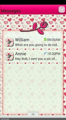 ValentinesDay1 GO SMS THEME