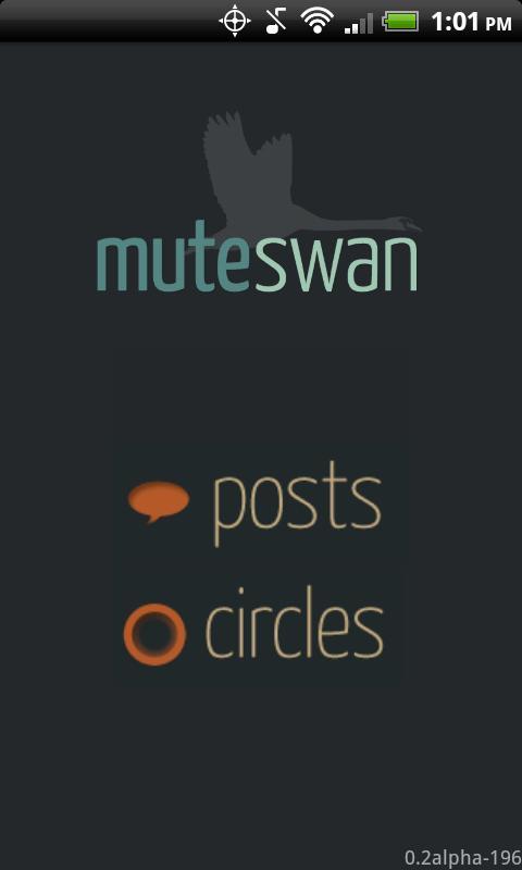 Muteswan- screenshot