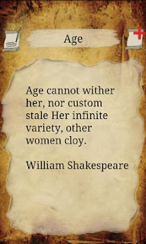 age cannot wither her nor custom stale her infinite variety essay
