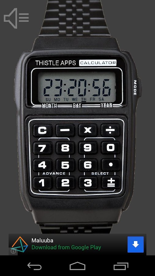 Calculator Watch - screenshot