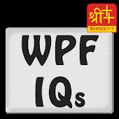 WPF IQs (By Shree++)