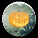 Halloween Jack-o' lantern LWP icon
