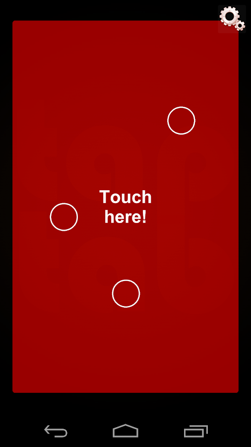 TapTab Controller- screenshot