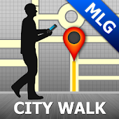 Malaga Map and Walks