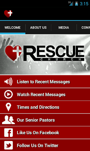 Rescue Church App