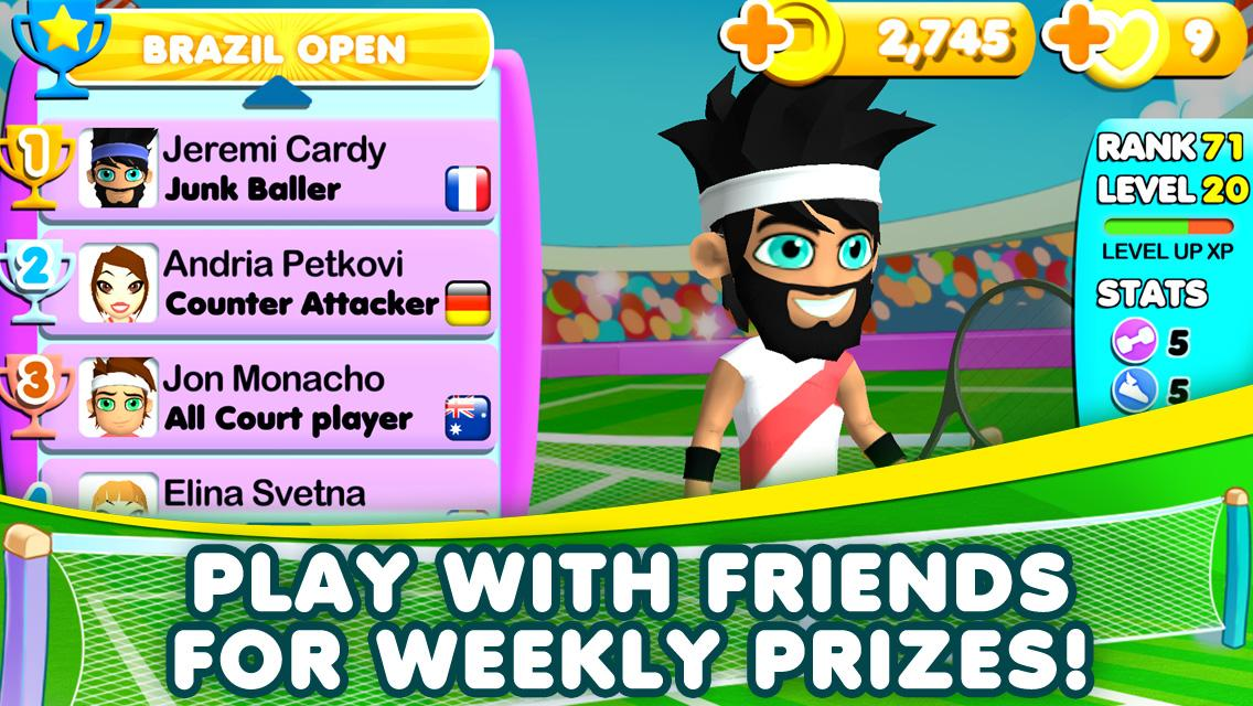 All Stars Tennis- screenshot