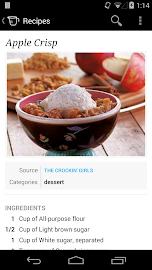 Recipe, Menu & Cooking Planner Screenshot 2