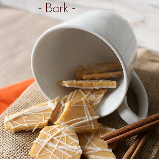 Pumpkin Spice Latte Bark