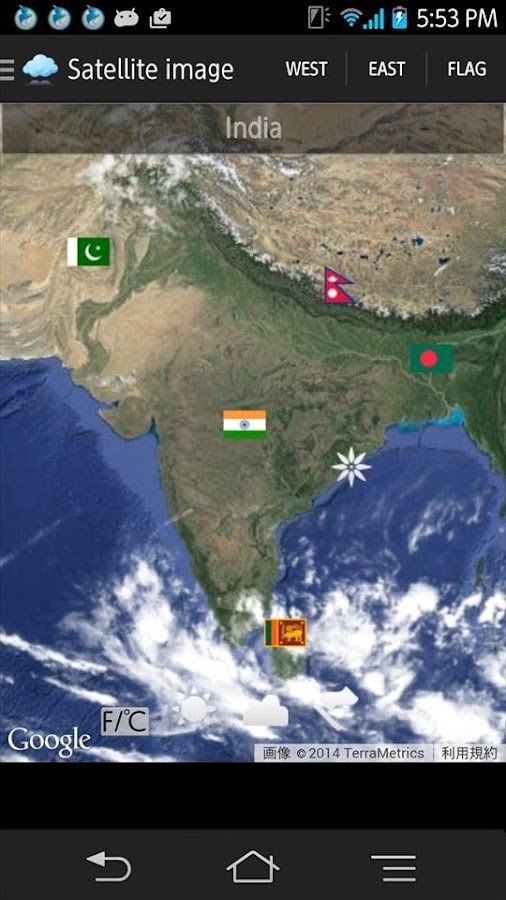 Weather Satellite Map Android Apps On Google Play