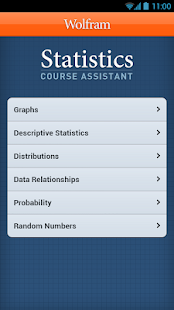 Statistics Course Assistant - screenshot thumbnail