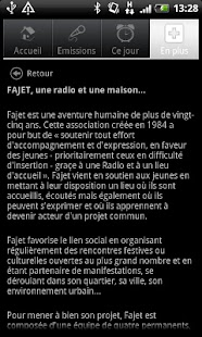 Radio FAJET Nancy- screenshot thumbnail