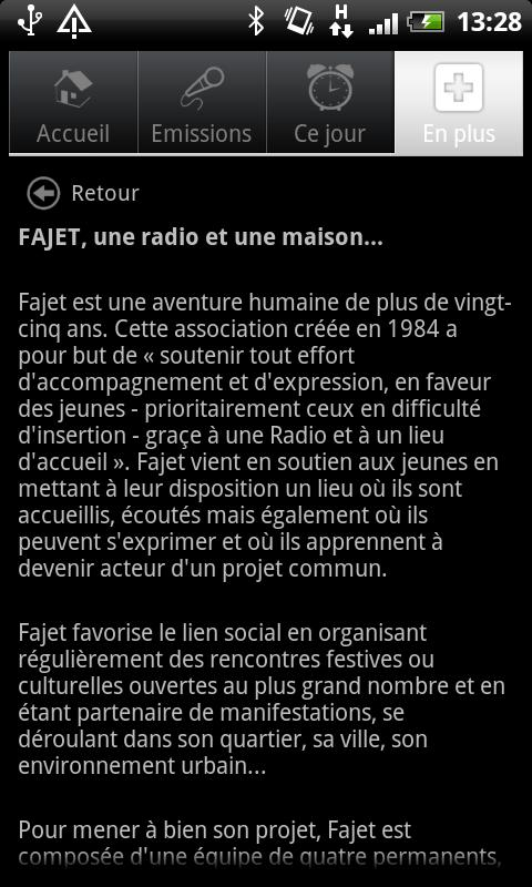 Radio FAJET Nancy- screenshot