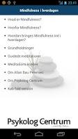 Screenshot of Mindfulness i hverdagen GRATIS