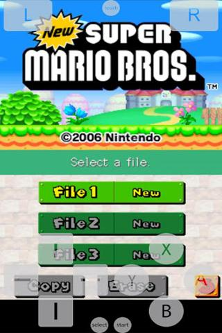 NDS PRO (NDS Emulator) - screenshot