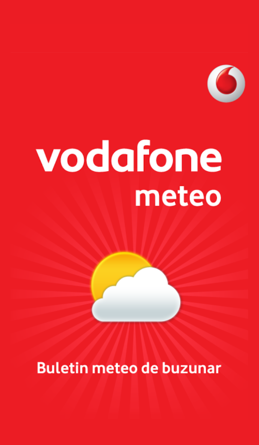 Vodafone Meteo- screenshot