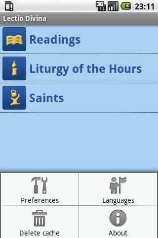 Lectio Divina - screenshot