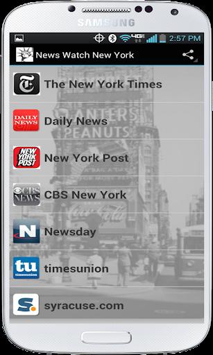 News Watch New York