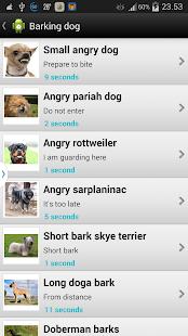 Barking Dog Sounds - screenshot thumbnail