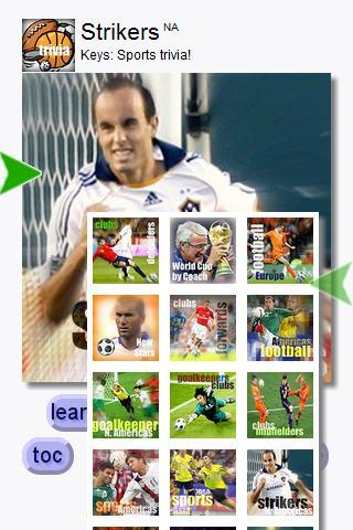 Football Strikers N.Am (Keys) - screenshot