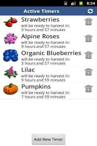 FarmHand: Timer for FarmVille - screenshot