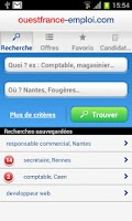Screenshot of Emploi Ouest-France