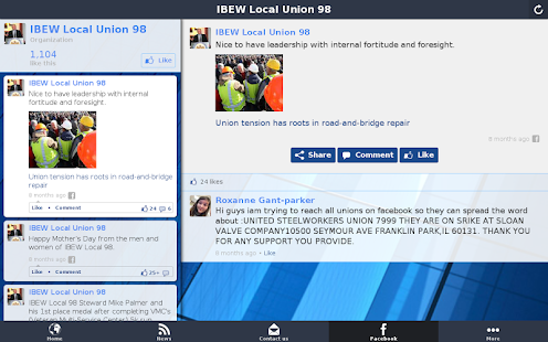 IBEW Local Union 98- screenshot thumbnail