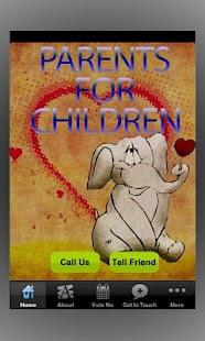 Parents For Children- screenshot thumbnail