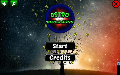 Astro Explosions Brain trainer