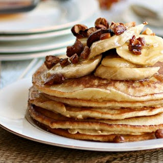 Banana Cashew Pancakes