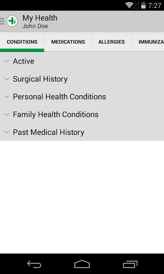 FollowMyHealth™ Mobile - screenshot