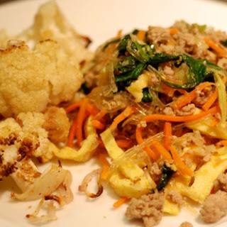 Stir Fried Kelp Noodles Made With The Dregs From My Fridge
