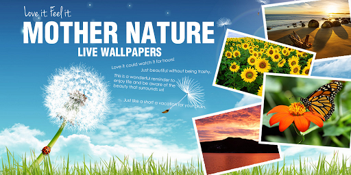 Nature live wallpaper Android