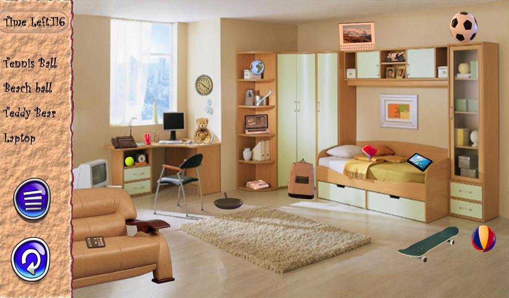 Hidden Object Living Room Free Screenshot