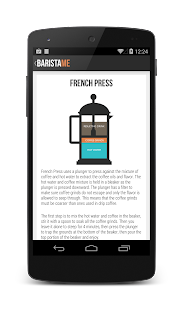 Baristame - Coffee Guide FREE - screenshot thumbnail