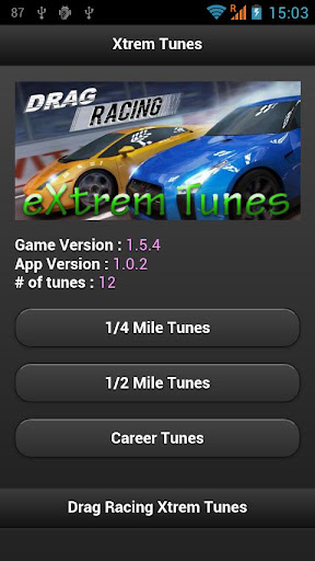 Drag Racing Xtrem Tunes Free