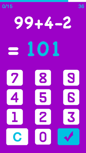 AYAC : Are you a Calculator