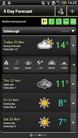 Met Office Weather App Screenshot 5