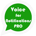 Voice for Notifications Pro icon